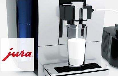 JURA technologie jemné mléčné pěny